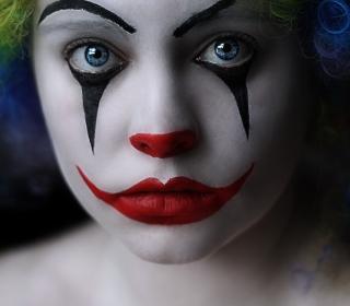 Sad Eyes Of Clown - Obrázkek zdarma pro 1024x1024