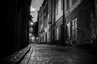 Free Sverige, Sett paving street in Stockholm Picture for Android, iPhone and iPad