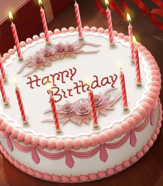 Happy Birthday Cake - Obrázkek zdarma pro Nokia C2-00
