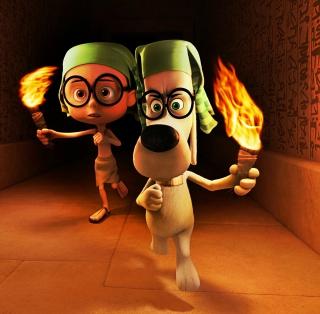 Mr. Peabody DreamWorks - Obrázkek zdarma pro 128x128