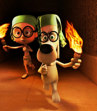 Mr. Peabody DreamWorks - Obrázkek zdarma pro 320x480