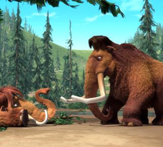 Ice Age Mammals - Obrázkek zdarma pro iPad Air