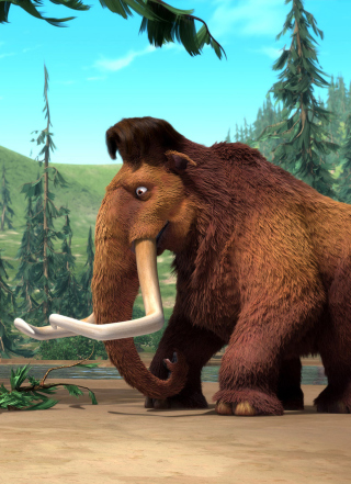 Ice Age Mammals - Obrázkek zdarma pro 640x1136