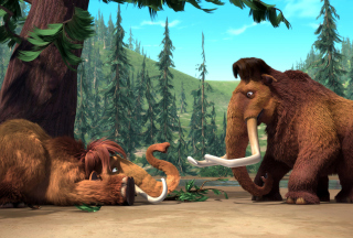 Ice Age Mammals - Obrázkek zdarma pro Sony Xperia E1