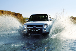 Mitsubishi Pajero Wallpaper for Android, iPhone and iPad