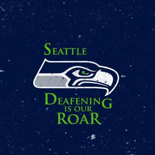 Seattle Seahawks - Obrázkek zdarma pro iPad mini