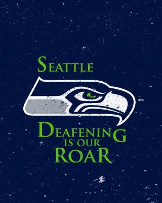 Seattle Seahawks - Obrázkek zdarma pro 360x480