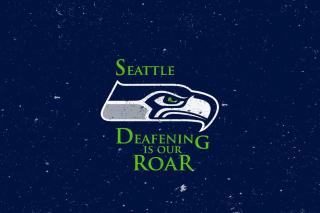 Seattle Seahawks - Obrázkek zdarma pro Nokia Asha 201