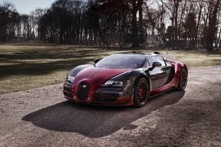 Bugatti Veyron Grand Sport Vitesse - Obrázkek zdarma pro Fullscreen Desktop 1400x1050