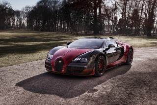 Bugatti Veyron Grand Sport Vitesse - Obrázkek zdarma pro 480x320