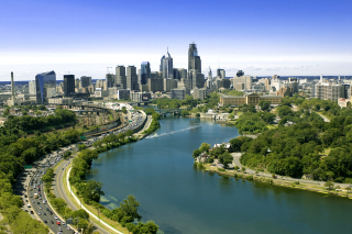 Philadelphia City in Pennsylvania Picture for Android, iPhone and iPad