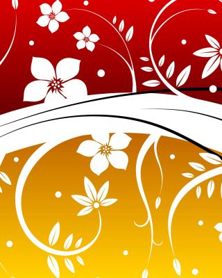 Vector Flowers ClipArt - Obrázkek zdarma pro 128x160