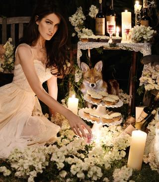 Fox Princess - Obrázkek zdarma pro Nokia C5-06