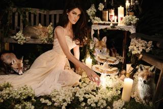 Fox Princess - Obrázkek zdarma pro Samsung Galaxy Tab S 8.4