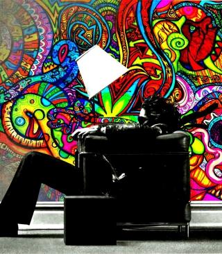 Goa Trance - Obrázkek zdarma pro Nokia Asha 308