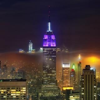New York City Night - Obrázkek zdarma pro 2048x2048