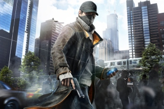 Free Watch Dogs Aiden Pearce Picture for Android, iPhone and iPad