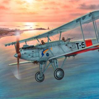 Vickers Vildebeest 245 - Obrázkek zdarma pro iPad Air