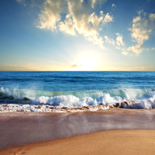 Beach and Waves - Obrázkek zdarma pro iPad Air