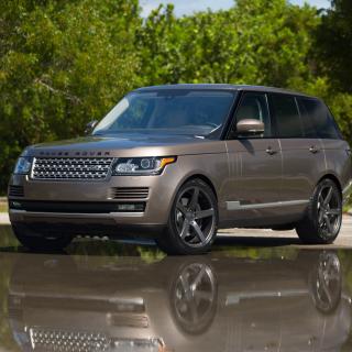 Range Rover 22 inch Rims - Obrázkek zdarma pro 1024x1024