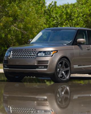 Range Rover 22 inch Rims - Obrázkek zdarma pro Nokia 300 Asha