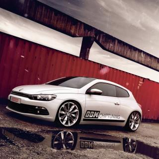 Volkswagen Scirocco Tuning - Obrázkek zdarma pro 2048x2048
