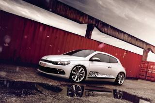 Volkswagen Scirocco Tuning - Obrázkek zdarma pro Android 320x480