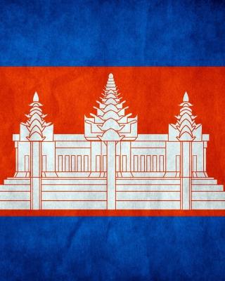 Flag of Cambodia - Obrázkek zdarma pro 750x1334