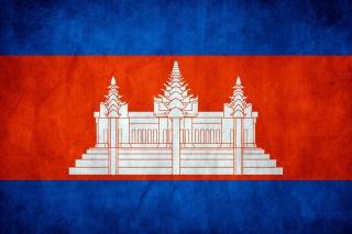 Flag of Cambodia - Obrázkek zdarma pro Android 320x480