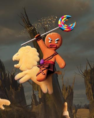 Gingerbread Man - Obrázkek zdarma pro iPhone 5C
