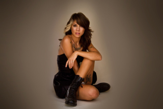 Christina Perri - Obrázkek zdarma pro Samsung Galaxy Tab 3 8.0