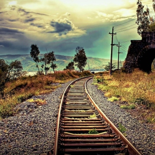 Abandoned Railroad - Obrázkek zdarma pro 1024x1024