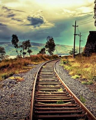 Abandoned Railroad - Obrázkek zdarma pro 240x400