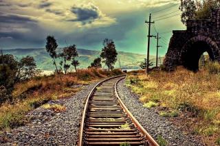 Abandoned Railroad - Obrázkek zdarma pro Samsung Galaxy Tab 3 8.0