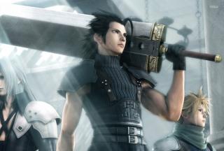 Crisis Core Final Fantasy Vii Game - Obrázkek zdarma
