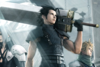 Crisis Core Final Fantasy Vii Game - Obrázkek zdarma pro Desktop 1920x1080 Full HD