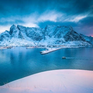 Lofoten Island - Obrázkek zdarma pro 1024x1024