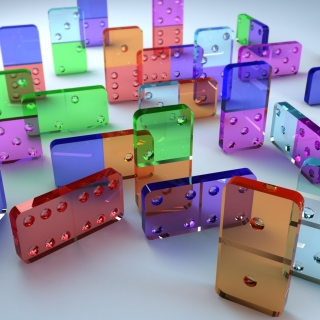 Domino Game - Obrázkek zdarma pro iPad mini 2