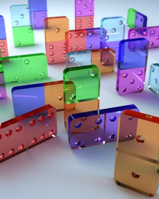 Domino Game - Obrázkek zdarma pro 480x800