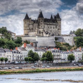Saumur Castle on Loire - Obrázkek zdarma pro 2048x2048