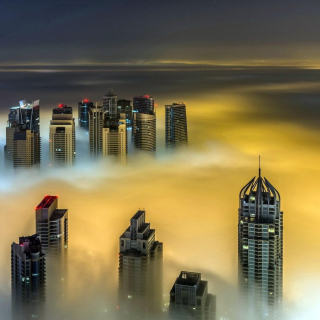 Dubai on Top - Obrázkek zdarma pro 1024x1024
