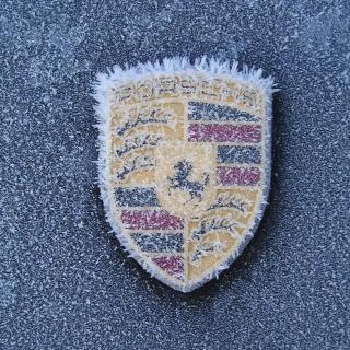 Porsche Logo - Obrázkek zdarma pro 2048x2048