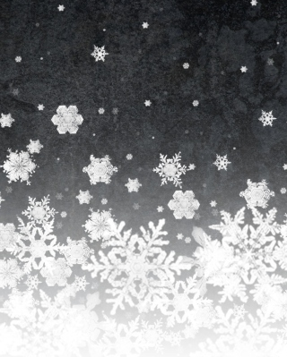 Snowflakes - Obrázkek zdarma pro Nokia Asha 502
