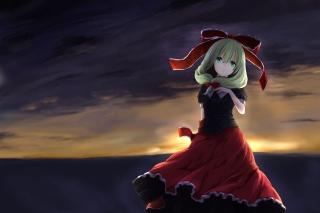 Hina Kagiyama Touhou - Obrázkek zdarma pro Desktop Netbook 1024x600