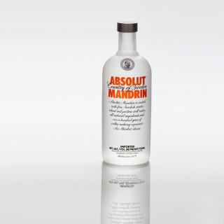 Absolut Vodka Mandarin - Obrázkek zdarma pro 208x208