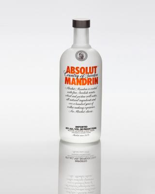 Absolut Vodka Mandarin - Obrázkek zdarma pro Nokia X1-00