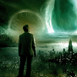 Futuristic World - Obrázkek zdarma pro 320x320
