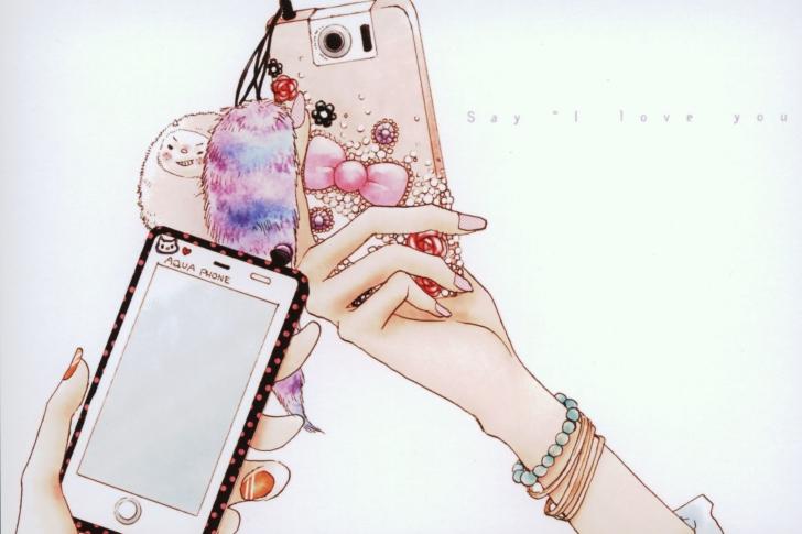La Fleur Phone Cover wallpaper