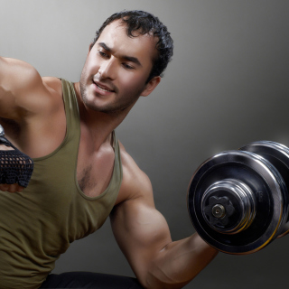 Bodybuilding - Obrázkek zdarma pro iPad Air