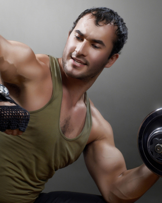 Bodybuilding - Obrázkek zdarma pro Nokia C1-00